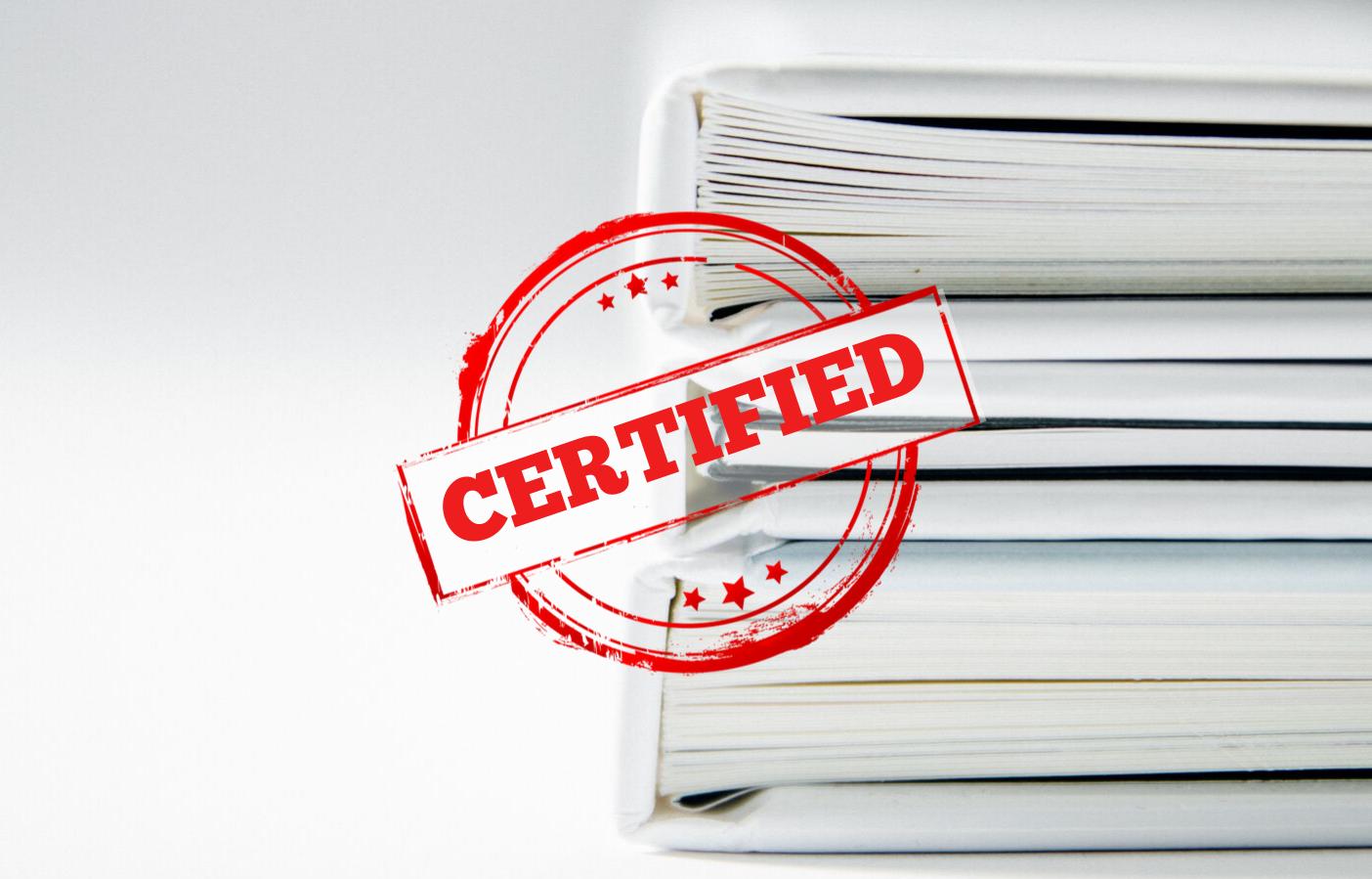 сертификация в картинках носили